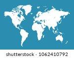 world map vector | Shutterstock .eps vector #1062410792