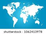 world map vector. | Shutterstock .eps vector #1062413978