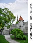 castle of tallinn  estonia | Shutterstock . vector #1062433346