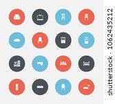 set of 16  furnishings icons....