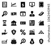 flat vector icon set   abacus...   Shutterstock .eps vector #1062443945