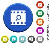 find movie round color beveled... | Shutterstock .eps vector #1062444362