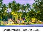 view on beach ressort on... | Shutterstock . vector #1062453638