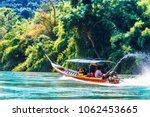 view on boat on mae nam kok...   Shutterstock . vector #1062453665
