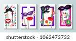 carnival festival banner  flyer ... | Shutterstock .eps vector #1062473732