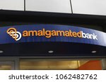 Small photo of New York, New York / USA; October 25, 2017; Amalgamated Bank is pictured in New York City.