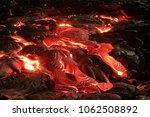 lava flow at kilauea | Shutterstock . vector #1062508892