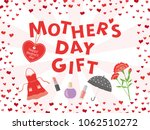 mother's day gift advertisement ... | Shutterstock .eps vector #1062510272