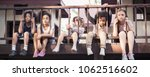 multicultural little children...   Shutterstock . vector #1062516602