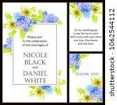 vintage delicate invitation... | Shutterstock .eps vector #1062544112