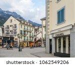 chamonix mont blanc  france  ... | Shutterstock . vector #1062549206