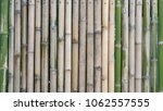 bamboo fence texture background | Shutterstock . vector #1062557555