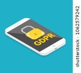 general data protection... | Shutterstock .eps vector #1062579242