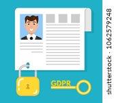 general data protection...   Shutterstock .eps vector #1062579248
