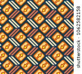 seamless abstract pattern with... | Shutterstock . vector #1062582158