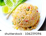 Macro Fried Rice Thai Style
