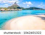 bora bora island  french... | Shutterstock . vector #1062601322