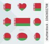 belarus flag. national flag of... | Shutterstock .eps vector #1062602708