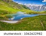 koruldi lakes in caucasus... | Shutterstock . vector #1062622982