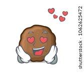 in love meatball mascot cartoon ... | Shutterstock .eps vector #1062625472