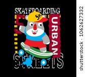skater t shirt vector art   Shutterstock .eps vector #1062627332