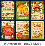 cinco de mayo holiday party... | Shutterstock .eps vector #1062643298