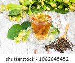 Cup Of Herbal Tea With Linden...