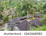 gunung kawi  temple and... | Shutterstock . vector #1062668582