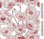 seamless pattern. california... | Shutterstock .eps vector #1062670355