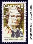 canada   circa 1973  a stamp... | Shutterstock . vector #106267388