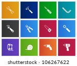 hand tools icon series in metro ...