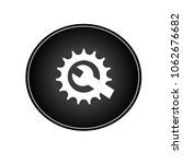 gear with wrench button icon....   Shutterstock .eps vector #1062676682