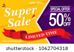 super sale. special offers ... | Shutterstock .eps vector #1062704318