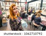 horsens  denmark   march 10  ...   Shutterstock . vector #1062710792
