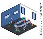 isometric 3d illustration... | Shutterstock . vector #1062736052