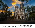 st. joseph's cathedral is a... | Shutterstock . vector #1062736136