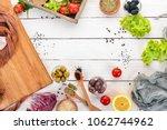 preparation for the preparation ...   Shutterstock . vector #1062744962