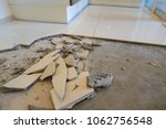 Repairing Tiles In The House