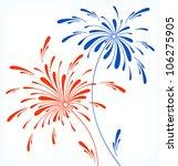 Festive Firework In Honor Of...