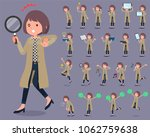 a set of women with digital... | Shutterstock .eps vector #1062759638