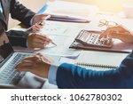 teamwork accountant   working...   Shutterstock . vector #1062780302