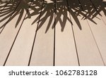 the brown wooden deck and black ... | Shutterstock . vector #1062783128