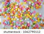 colorful multicolored on white... | Shutterstock . vector #1062790112