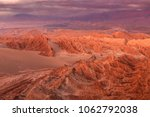 valley of death or mars valley... | Shutterstock . vector #1062792038