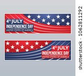 banner collection 4th july... | Shutterstock .eps vector #1062811292