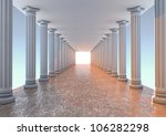 Render Of A Corridor With...