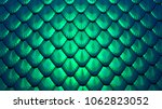 Stock photo blue green scales of a mermaid or a dragon background d illustration 1062823052