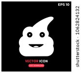 shit vector icon illustration