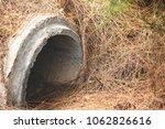 concrete drainage tank | Shutterstock . vector #1062826616