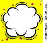 retro comic design cloud. flash ... | Shutterstock .eps vector #1062850532